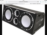 Vibe bass box and amplifier very loud