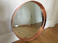 Lush French Copper Mirror