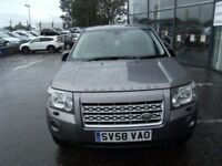 2008 58 LAND ROVER FREELANDER 2.2 TD4 XS 5D 159 BHP ** GUARANTEED FINANCE **** PART EX WELCOME ****