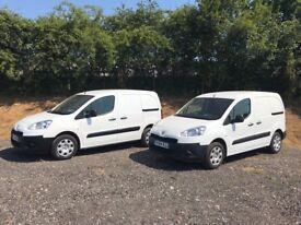 PEUGEOT PARTNER 1.6 HDI DIESEL VANS 2014 64-REG *CHOICE OF 2* FULL SERVICE HISTORY DRIVES EXCELLENT