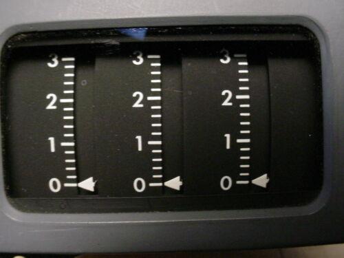 Gulton vibration indicator model EMVI103.     Kratos instruments model 185.073