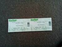 2 Joe Bonamassa tickets Sheffield arena