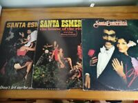 3 santa esmeralda lps, beauty, house of the rising sun and don't let me be misunderstood. Disco