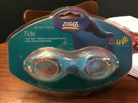 Zoggs Tide Swimming Goggles blue / clear colour