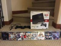 160GB PS3 With 8 Games