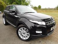 Land Rover Range Rover Evoque 2.2 SD4 Prestige 5dr Auto [Lux Pack] (TV! PAN ROOF! ++) (black) 2013
