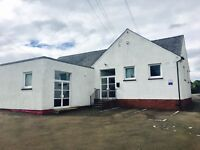 Commercial building to rent on Broxburn Main Street - includes car park