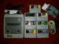 Super Nintendo 10 Games 1 Pro Controller