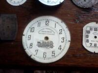 12 x pocket\watch dials