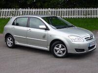2004 (54) Toyota Corolla 2.0 D-4D T3 | DIESEL | FULL TOYOTA HISTORY | 3 KEYS | JUNE 17 MOT | 1 OWNER