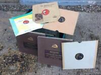 "40 x Vintage Shellac 78rpm 12"" Records"