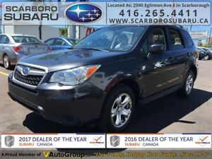 2015 Subaru Forester 2.5i,  FROM 1.9% FINANCING AVAILABLE