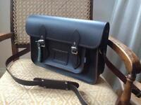 Brown leather satchel - new. Cambridge Satchel.
