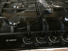 Bosch Black Gad Hob New and Unused