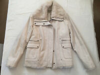 Italian Leather Jacket with real Fur trim by COMBIPEL ITALY £58