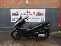 HONDA PCX 125cc BLACK NEW SHAPE 2015