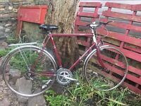 Vintage Raleigh Routier gents road bike 10 speed 24 inch frame 27 inch wheels