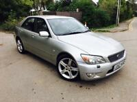 2003 LEXUS IS200 auto Genuine 85000 miles SAT NAV FULL BEIGE LEATHER GOOD ENGINE AND GEABOX