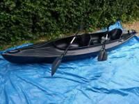 3 man open top kayak