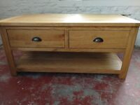 Coffee Table Solid Wood New Looking