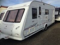Elddis odyssey 540 /4 berth fixed bed 2007 moter mover PX welcome