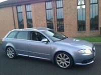 """CHECK THIS OUT"""""""" (233BHP) PADDLESHIFT""""AUDI A4 AVANT 3.0 TDI S LINE QUATTRO SAT NAV LEATHER"""