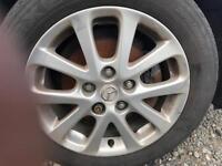 MAZDA 3 TAKARA 2008 Alloys Wheels Rims 205 55 R16 205/55 16