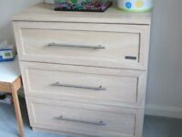 CHEST of DRAWERS & CHANGING TOP