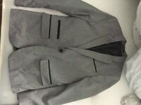 Boys grey communion suit