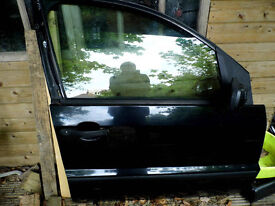 Ford Fusion Drivers Door O/S Black - Complete