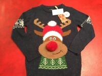 Christmas Jumper, Age 8 years by Next BNWT