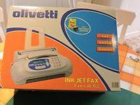 OLIVETTI INK JET FAX - Still in Box