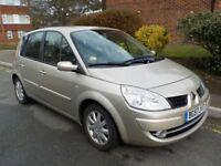 Renault Scenic 1.6 VVT Dynamique, petrol, manual, 2007, 49,000miles (5 seat MPV)