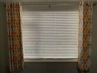 Curtains – custom-made by John Lewis – eyelet header