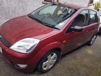 Ford Fiesta Zetec 2003