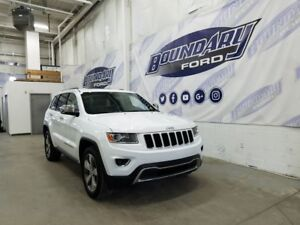 2015 Jeep Grand Cherokee Limited W/ 3.6L V6, 4WD, 8 Speed