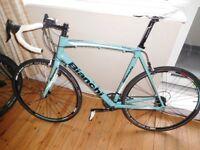 Bianchi Via Nirone 7 Xenon C2C Road Bike 61cm