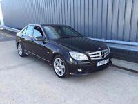 2010 60reg Mercedes-Benz C Class 2.1 C250 CDI BlueEFFICIENCY Sport AUTO diesel **high miles**1 owner