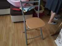 Beech Folding Table And Chairs