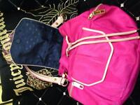 Juicy Couture hot pink purse / back pack