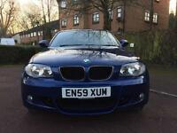 BMW 1 SERIES 2.0 118d M SPORT 5DR ** FSH ** SAT NAV ** HALF LEATHER **