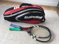 Babolat Tennis Rackets and Bag