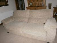 2 x Two / Three seater sofas