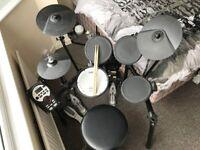 Roland TD-11K Electronic Drum Kit & Mapex Double Kick Pedal