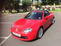 2003 MG TF Convertible Full Service History Only Two Private 9wners From New