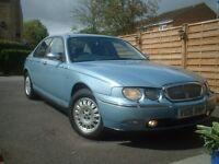 ROVER 75 CONNOISSEUR - WEDGEWOOD BLUE - V REG - 2.5 V6 AUTO - NO RESERVE