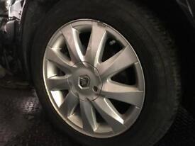 205/55 R16 2008 Renault Megane Alloys Wheels Rims