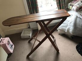 Vintage Victorian wooden ironing board