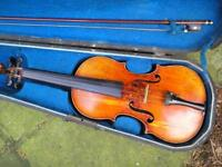 Antique French Violin, circa turn of the century....