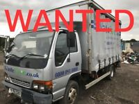 ISUZU & MITSUBISHI CANTER WANTED!!!! ANY CONDITION
